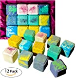Amazon Price History for:Kids Cubes Easter Bath Bombs, 12 Fun Fizzies, Make Bath Time Fun Time, Vegan , Organic Coconut Oil, Cruelty Free, PABA Free, Handmade in the USA with - from Enhance Me