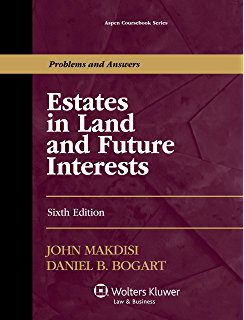 Estates in land and future interests a step by step guide aspen estates in land and future interests aspen coursebook series fandeluxe Choice Image