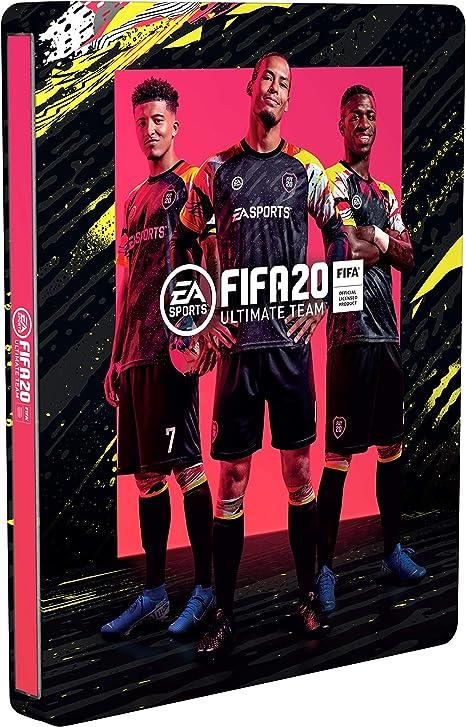 FIFA 20 Ultimate Team Steelbook para la edición digital Champions (excl. de Amazon.es) - [No contiene videojuego]: Amazon.es: Videojuegos