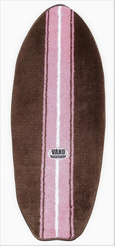 Marrón y Alfombra con forma de rosa tabla de surf 44