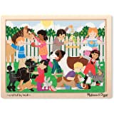 Melissa & Doug Best Friends Jigsaw Puzzle (12-Piece)