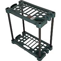 .Stalwart Compact Garden Fits Over 30 Tools Storage Rack