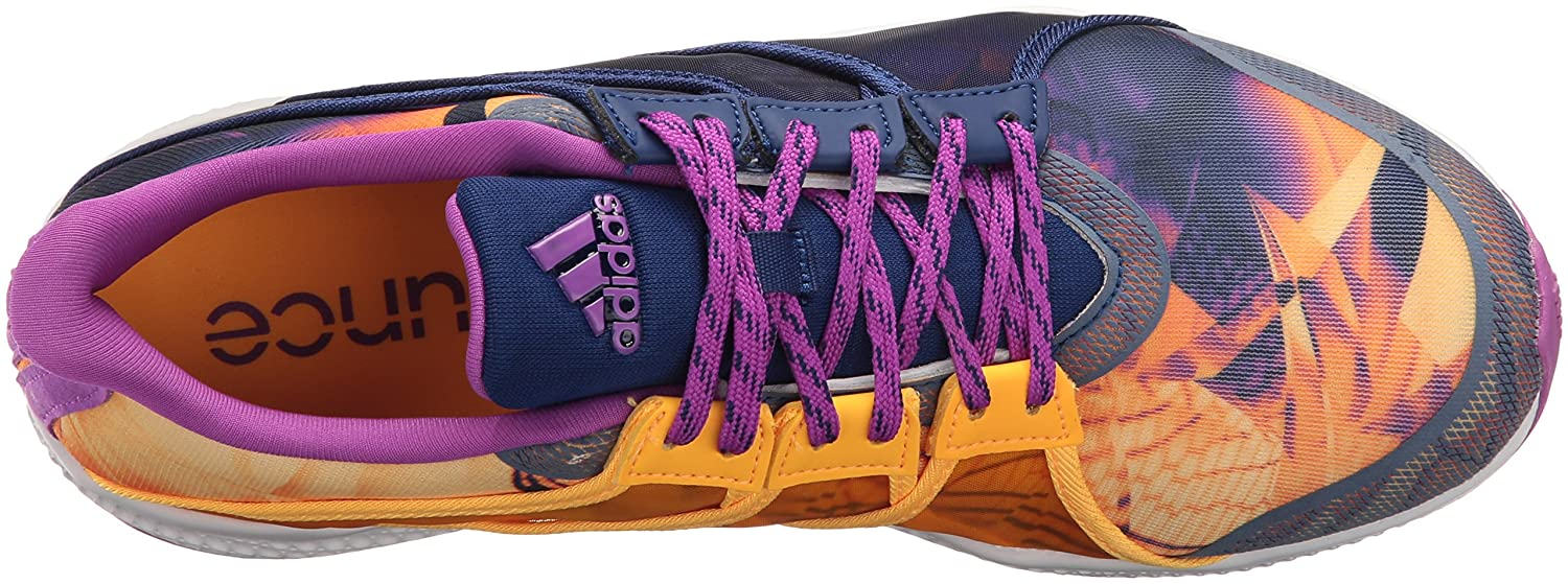 new styles 1a931 0772d Zapatillas Adidas Performance Gymbreaker Bounce Cross-Trainer para mujer  Shock Purple Solar Gold   Blanco