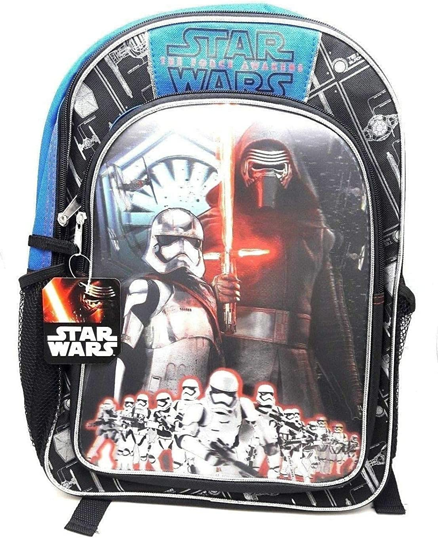 Useful Universe Disney Star Wars Force Awakens Kylo Ren First Order Stormtrooper Backpack