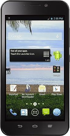 TracFone ZTE Quartz SIM única 4G LTE prepago Smartphone: Amazon.es ...