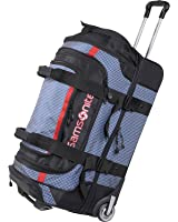 Samsonite Luggage Ripstop Wheeled Duffel, Blue (30-Inch, Black/Blue)