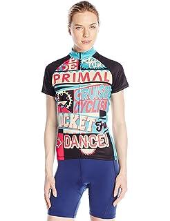 Amazon.com   Primal Wear Women s B-Leaf Sport Cut Jersey   Sports ... 01c52cd32