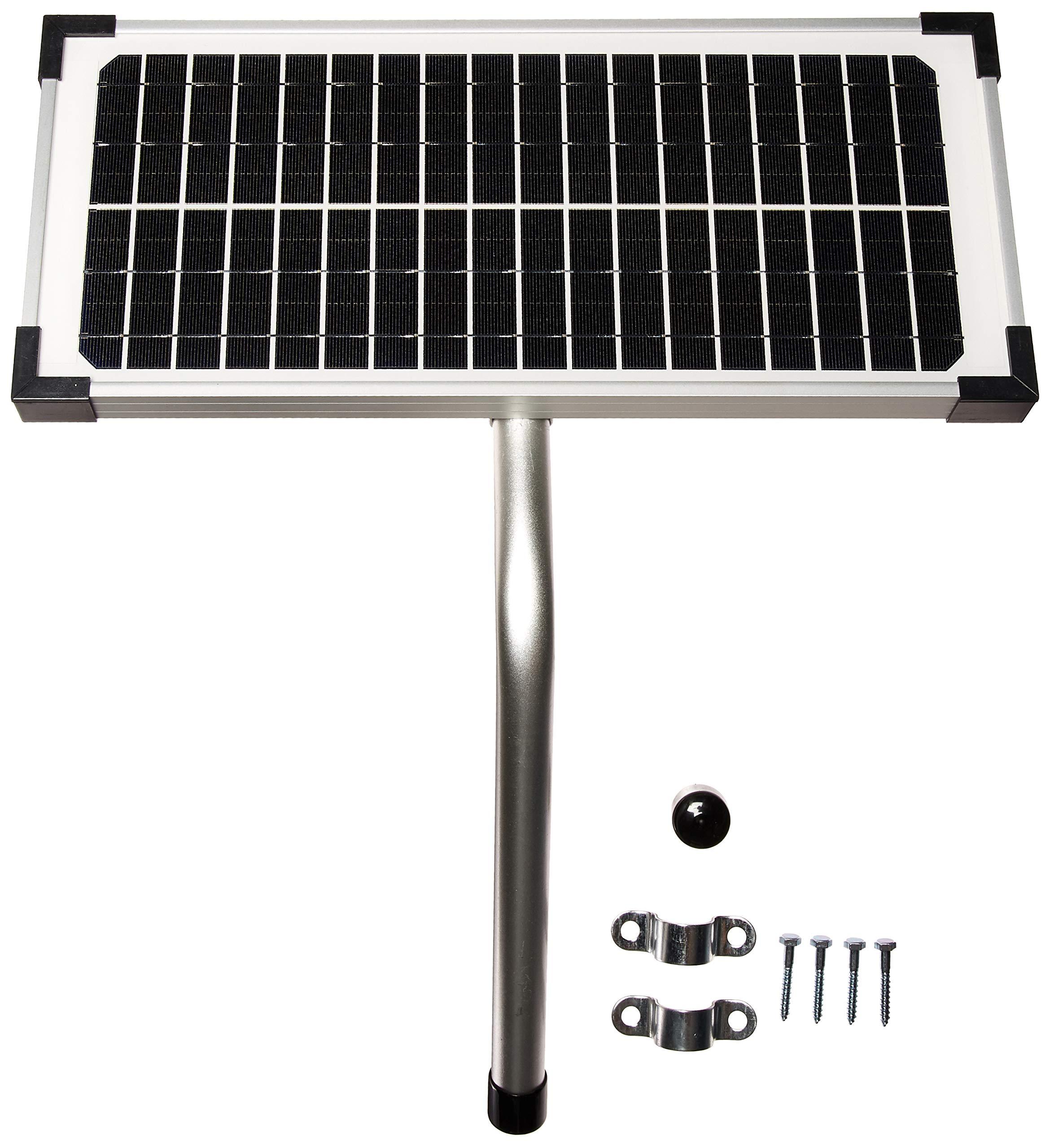 10 Watt Solar Panel Kit (FM123) for Mighty Mule Automatic Gate Openers by Mighty Mule