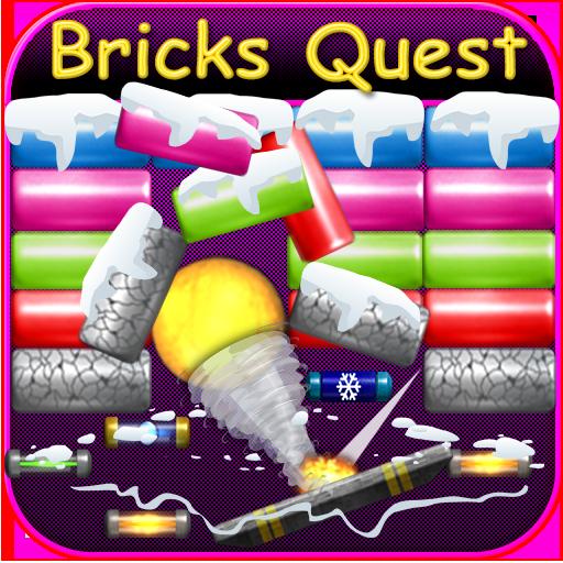 Bricks Breaker Quest-Bricks Demolition Space King