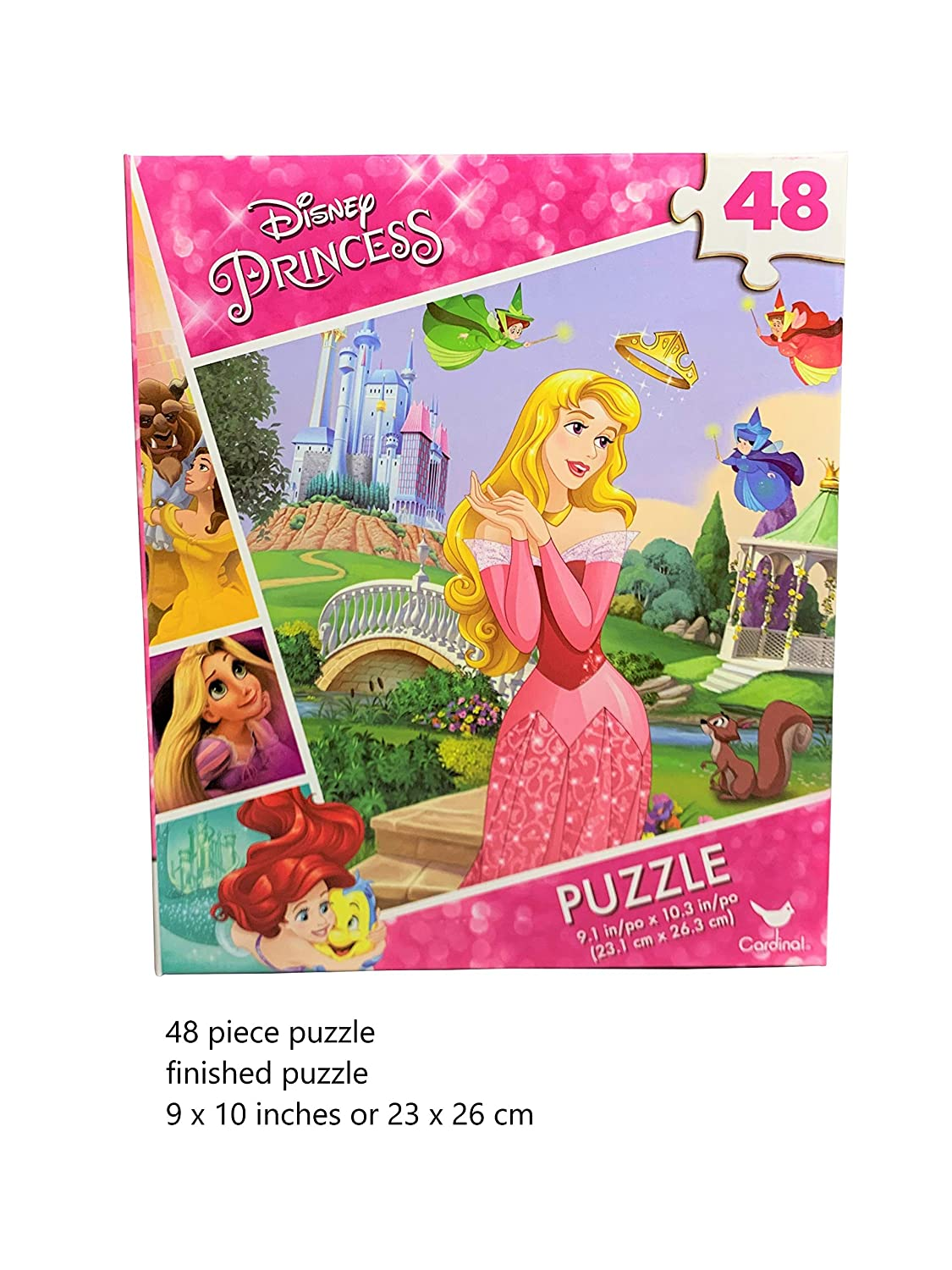 Single Puzzle Sleeping Beauty Puzzle for Kids Great Gift for Kids and Princess Fans