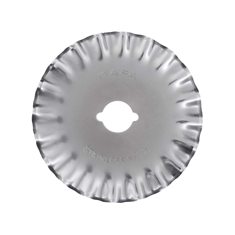 DAFA 45mm Rotary Pinking Blade, Rotary Cutter Blade. Fits OLFA, Fiskars, Most Brands