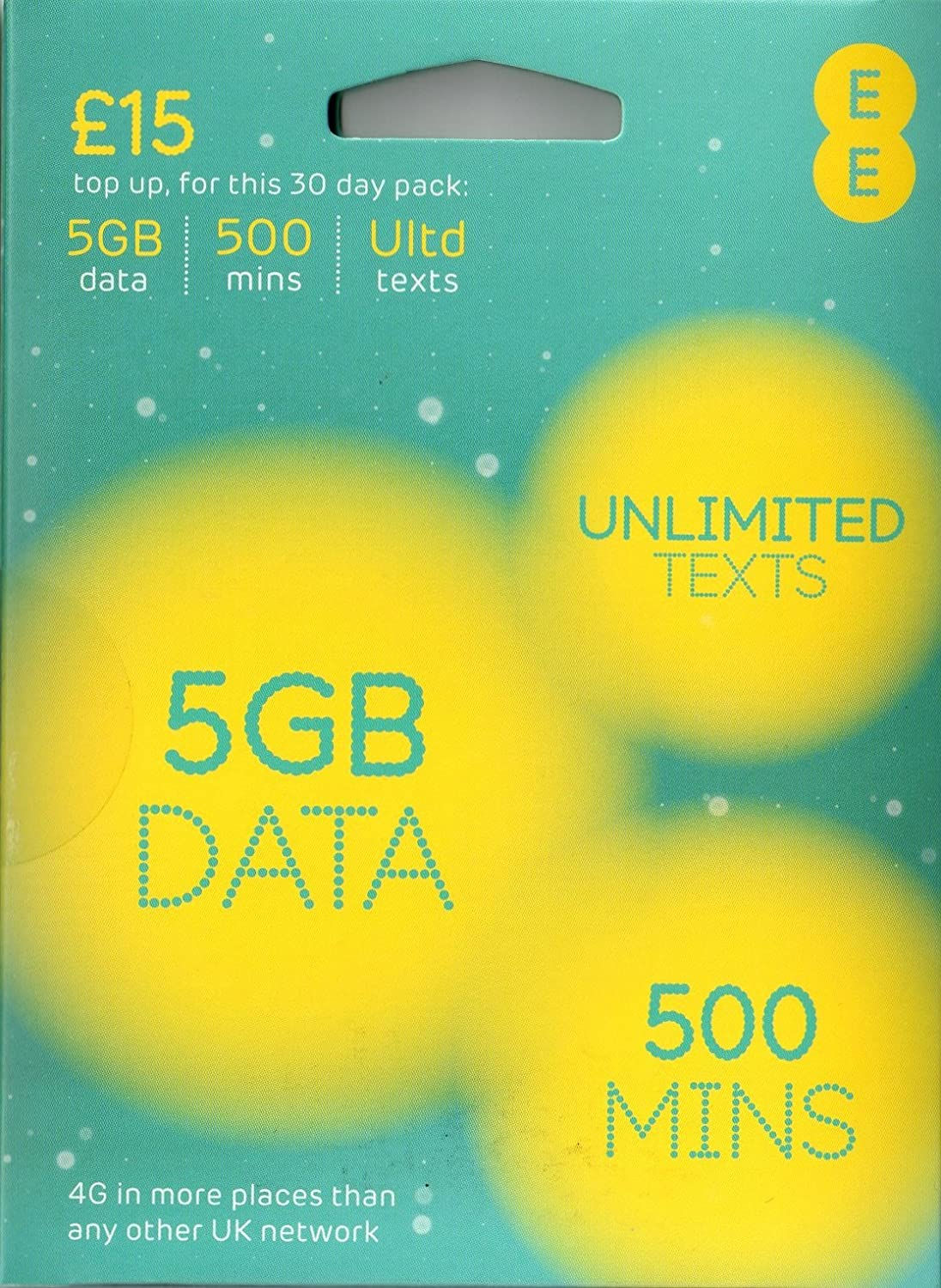 Ee 4g Payg Multi Sim Includes Nano Micro Standard Sim Unlimited Texts Up To 3000 Minutes 16gb Data For Mobile Phones Ipads Tablets Androids Dongles Other Wifi Device Just