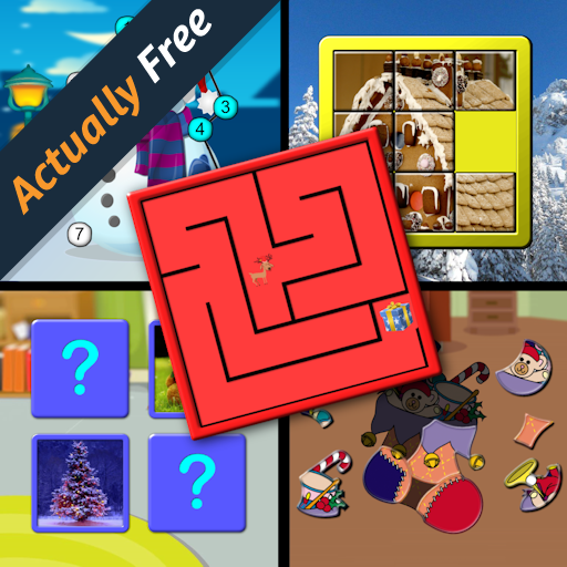 Kids Christmas Activites and Puzzles for preschool children (Activities Xmas Maths)