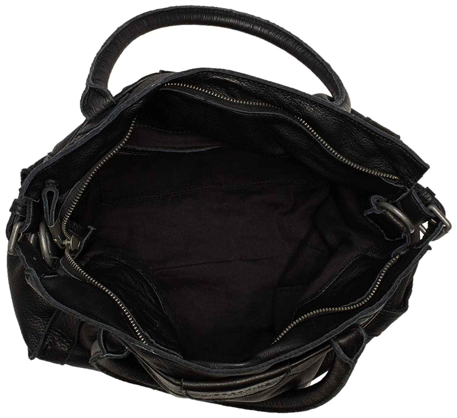 Liebeskind Berlin Women s Glory vintage Top-Handle Bag Black Schwarz (black  0001)  Amazon.co.uk  Shoes   Bags b5aea209bfcf7
