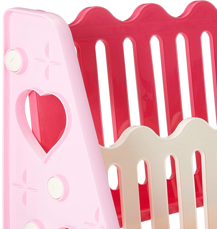 KDGM814 KiddyGem ready to read children book shelf//book case//book display Pink