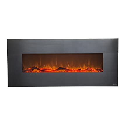 Amazon Com Touchstone 80026 Onyx Electric Fireplace Stainless