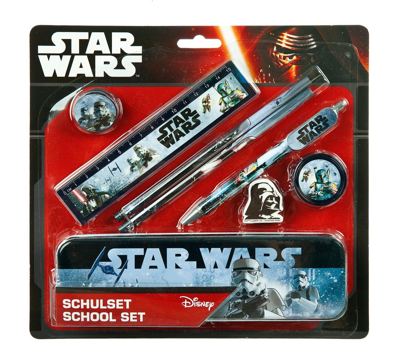 ca 32 x 34 x 10 cm sortiert Undercover SWHX7620 Kinderrucksack Star Wars