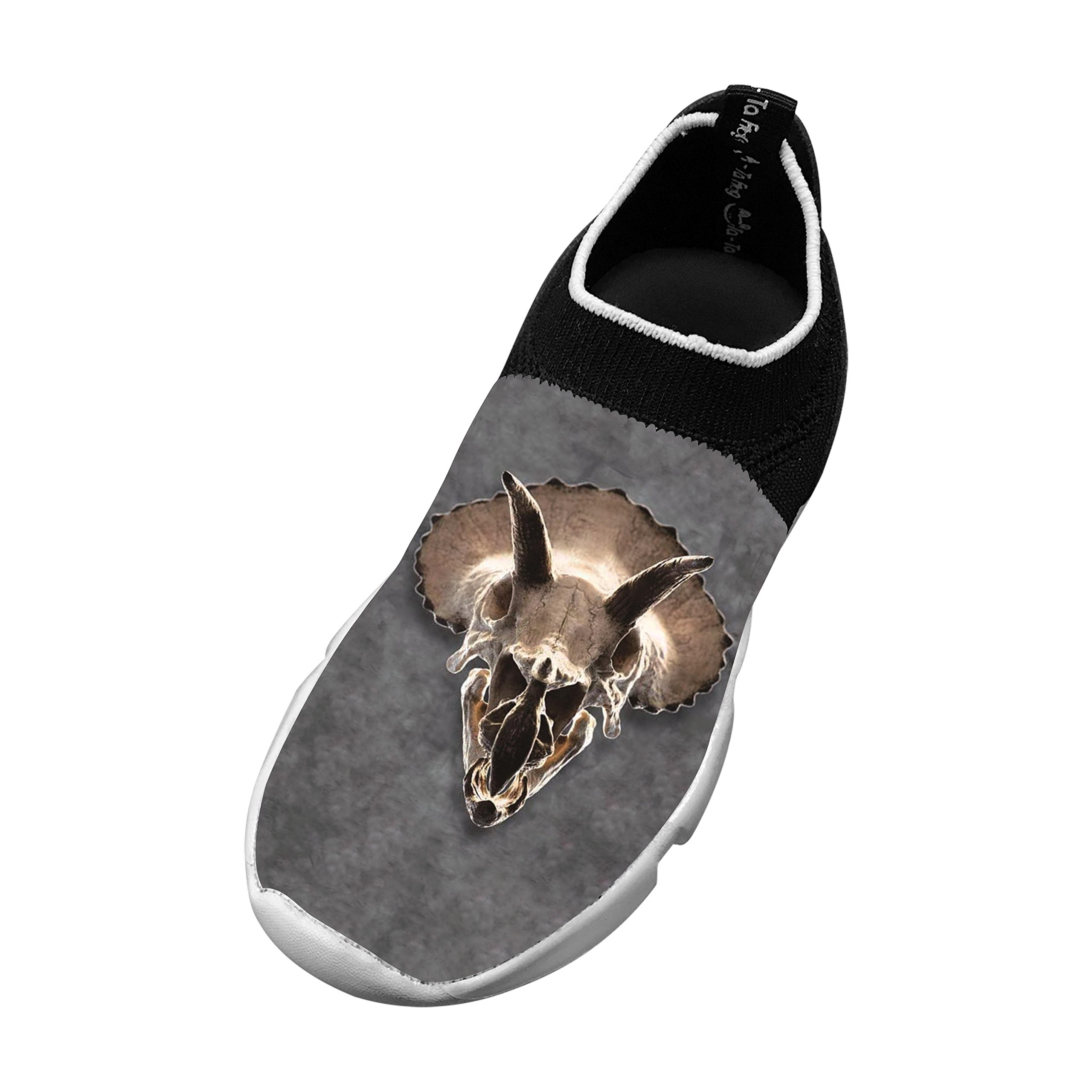 New Slim fit Flywire Knitting Shoe 3D Make Your Own With Animal Skull For Unisex Kid