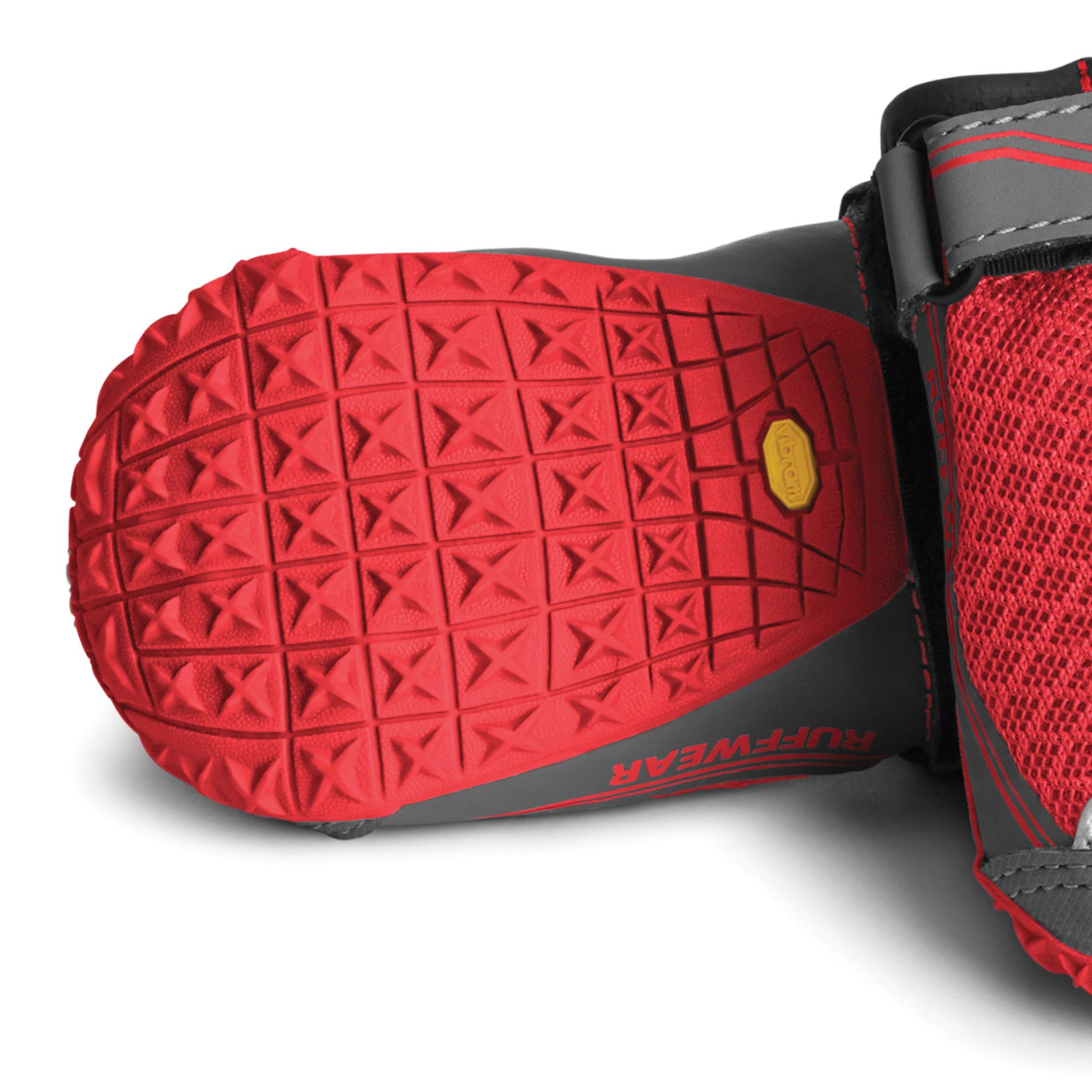 RUFFWEAR - Grip Trex, Red Currant, 2.25 in (4 Boots) by RUFFWEAR (Image #4)