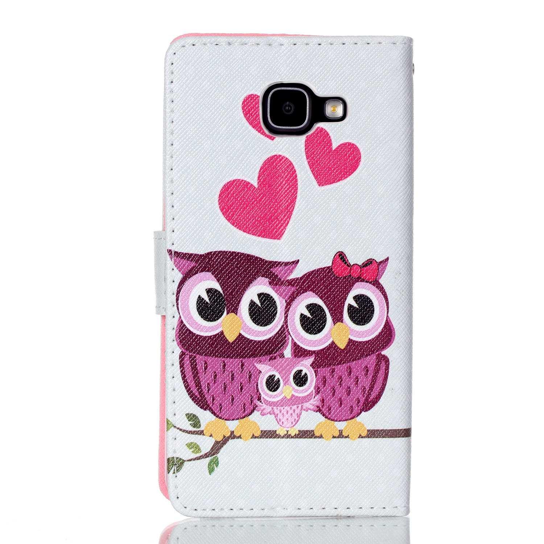 A-1 Galaxy A5 2016 Coque Portemonnaie Flip PU Cuir Housse Coque Étui Etui pour Samsung Galaxy A5 2016 Avec Carte Tenant Fente Supporter Dooki