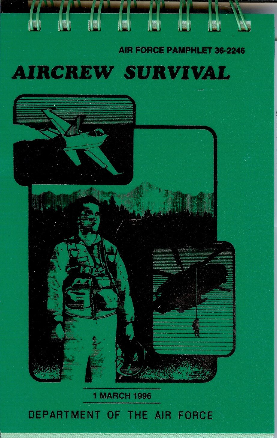Aircrew Survival Air Force Pamphlet 36-2246: Department of the Air Force:  9780160485619: Amazon.com: Books