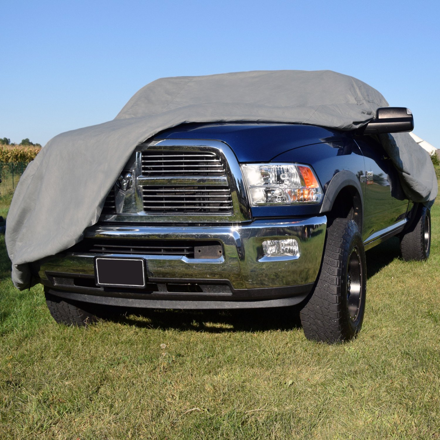 Polypropylene, Gray Budge Duro Truck Cover Fits Trucks with Standard Cab Compact Pickups up to 197 inches TD-2