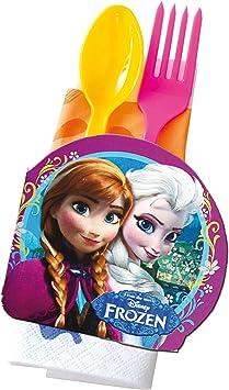 COOLMP – Lote de 12 Adornos de Mesa de cartón, diseño de Frozen ...
