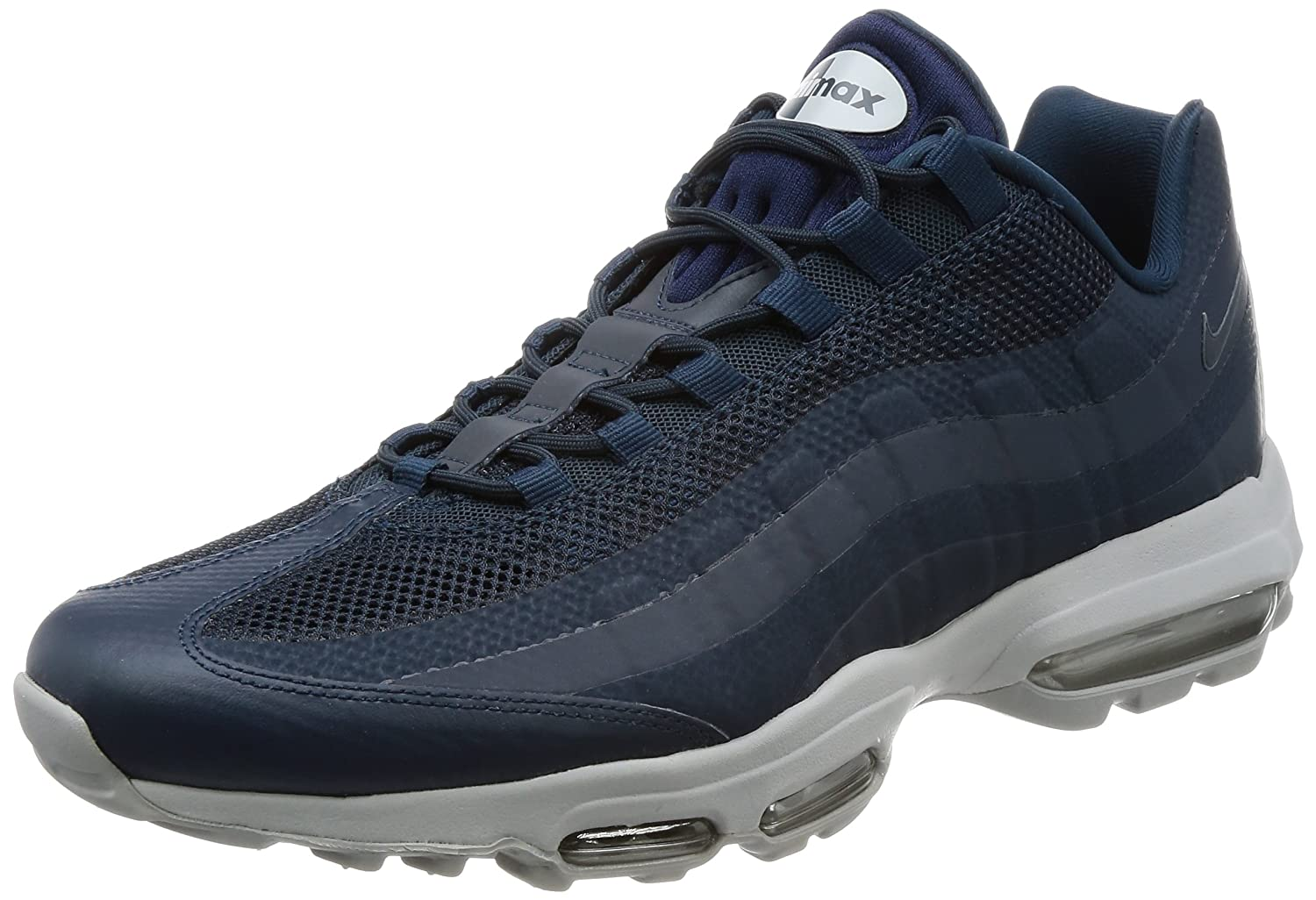 new concept 89246 497ec Amazon.com   Nike Air Max 95 Ultra Essential Mens Running Trainers 857910  Sneakers Shoes (UK 6 US 6.5 EU 39, Armory Navy 404)   Road Running