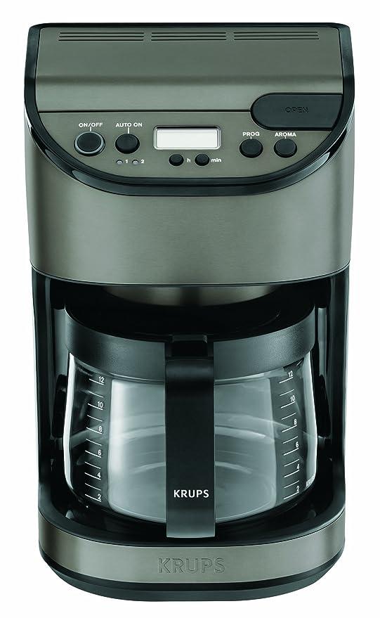 Krups KM611T - Cafetera de goteo con jarra de cristal ...
