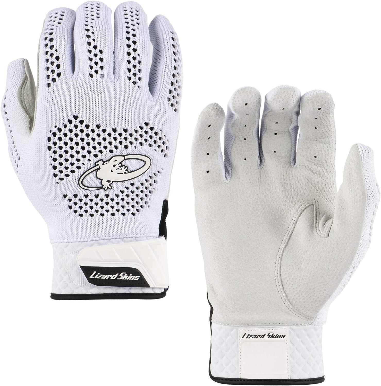 Adult Baseball Batting Gloves Lizard Skins Pro Knit V2 Baseball Batting Gloves