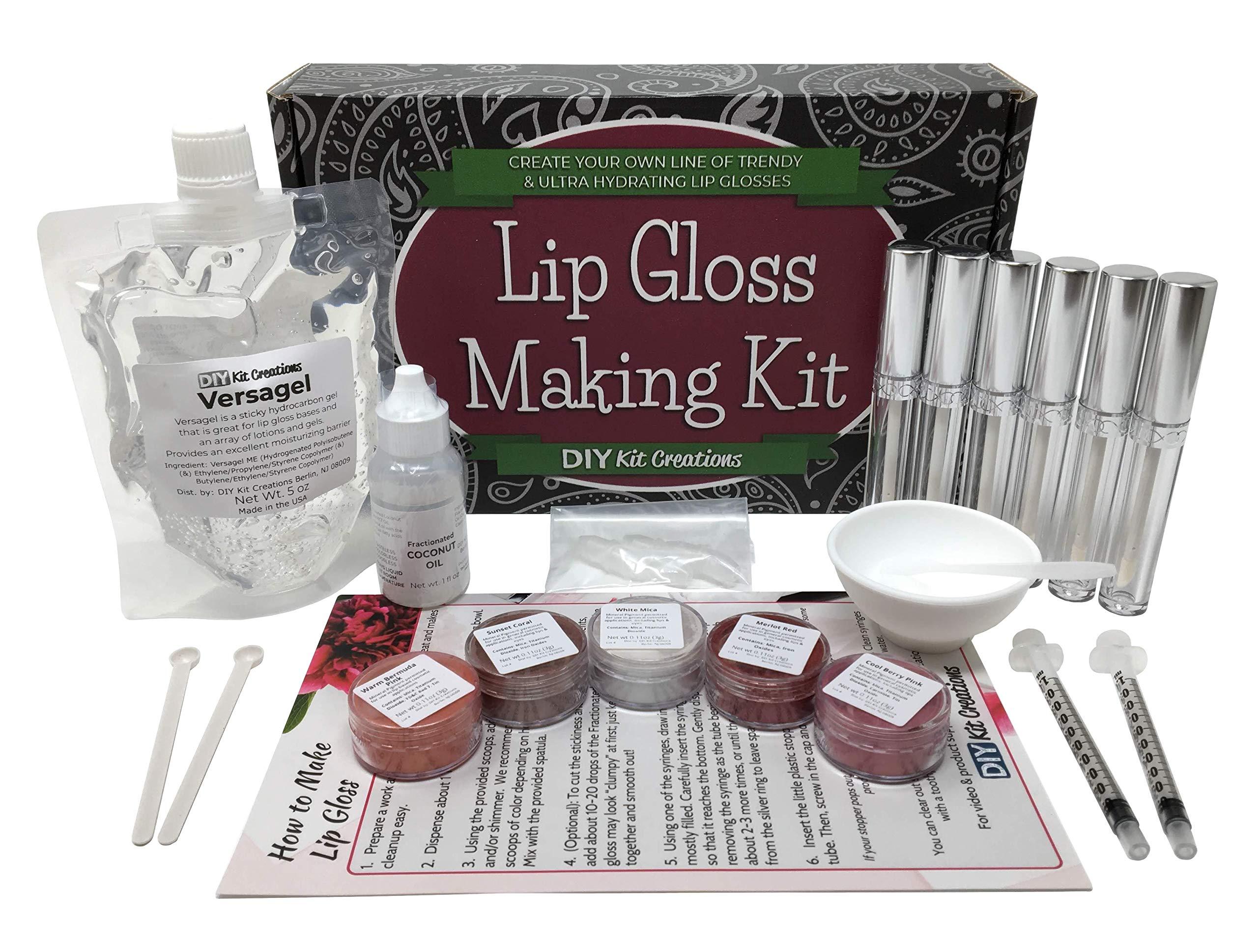 DIY Lip Gloss Making Kit - Make Your Own Lip Gloss by DIY Kit Creations (Image #1)