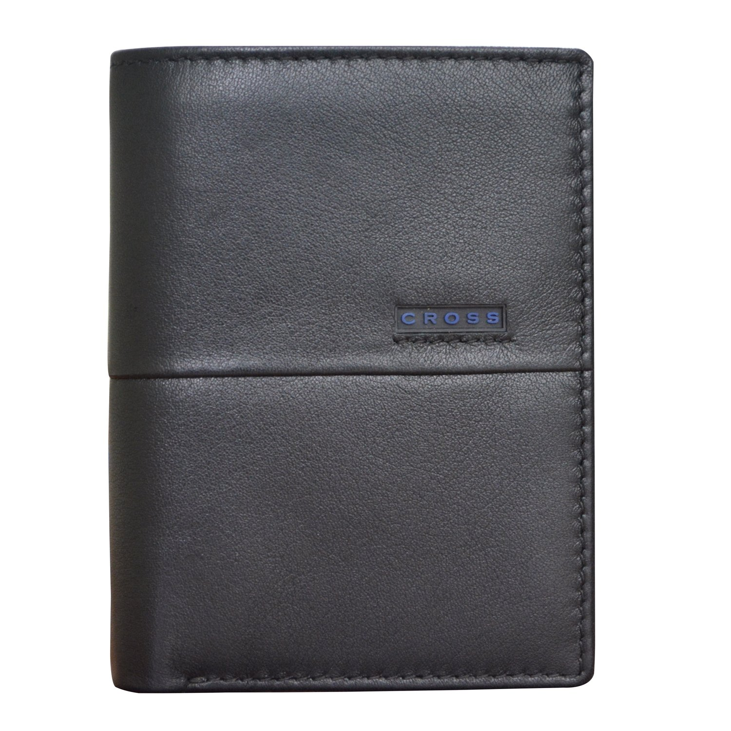 Cross Men's Genuine Leather Note Case With Id Window - Neuva CR - Black/Middle Blue (AC048216) Torero Corporation Pvt Ltd