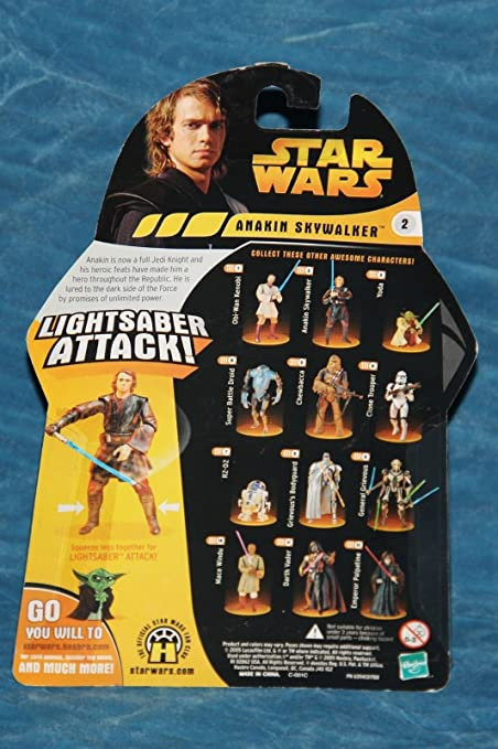 Amazon Com Qiyun Star Wars Anakin Skywalker Revenge Of The Sith Action Figure 076930852743 Toys Games