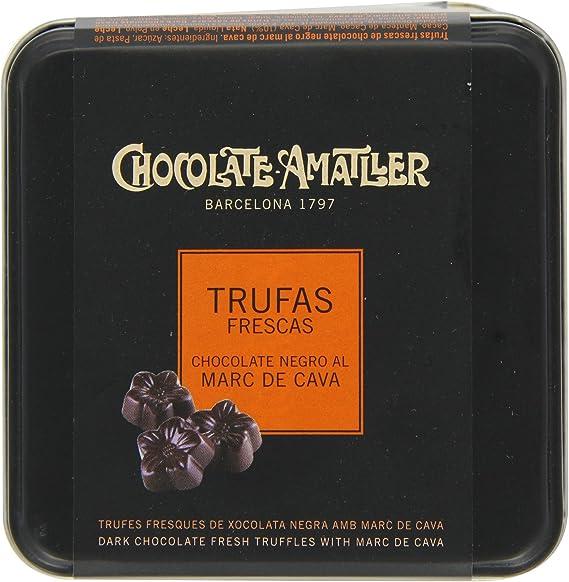 Chocolate Amatller - Flors. Bombones de chocolate 50% cacao al ...