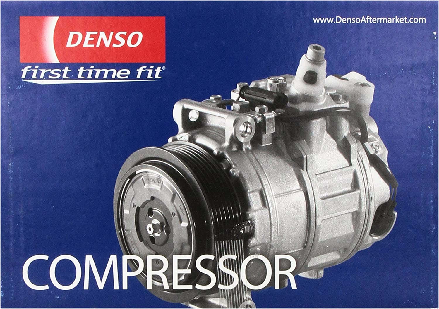Denso 471-1194 New Compressor with Clutch