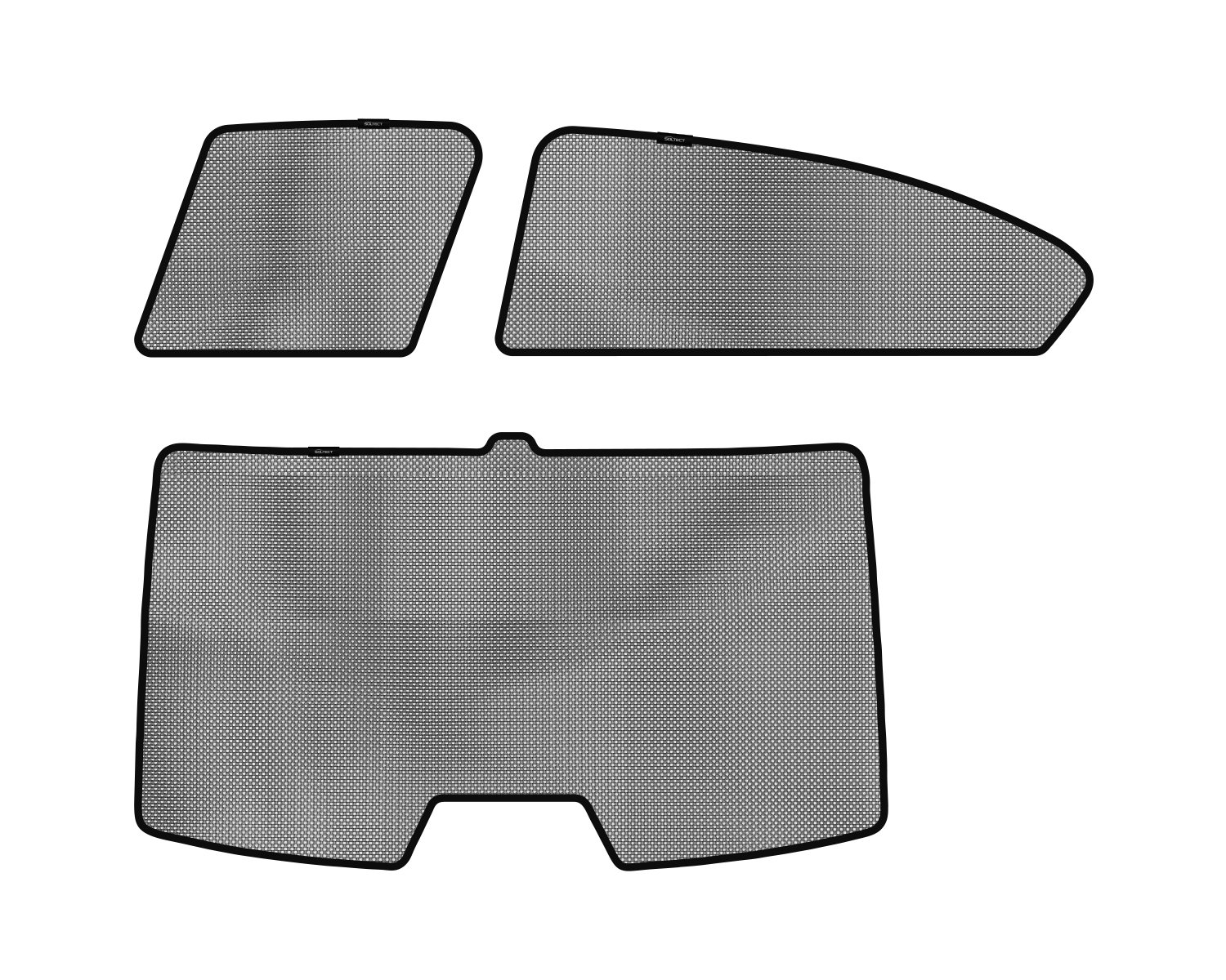 3D MAXpider S1HD0411 Side Windows Custom Fit Sun Shade (3D Soltect for Select Honda Civic Sedan Models)
