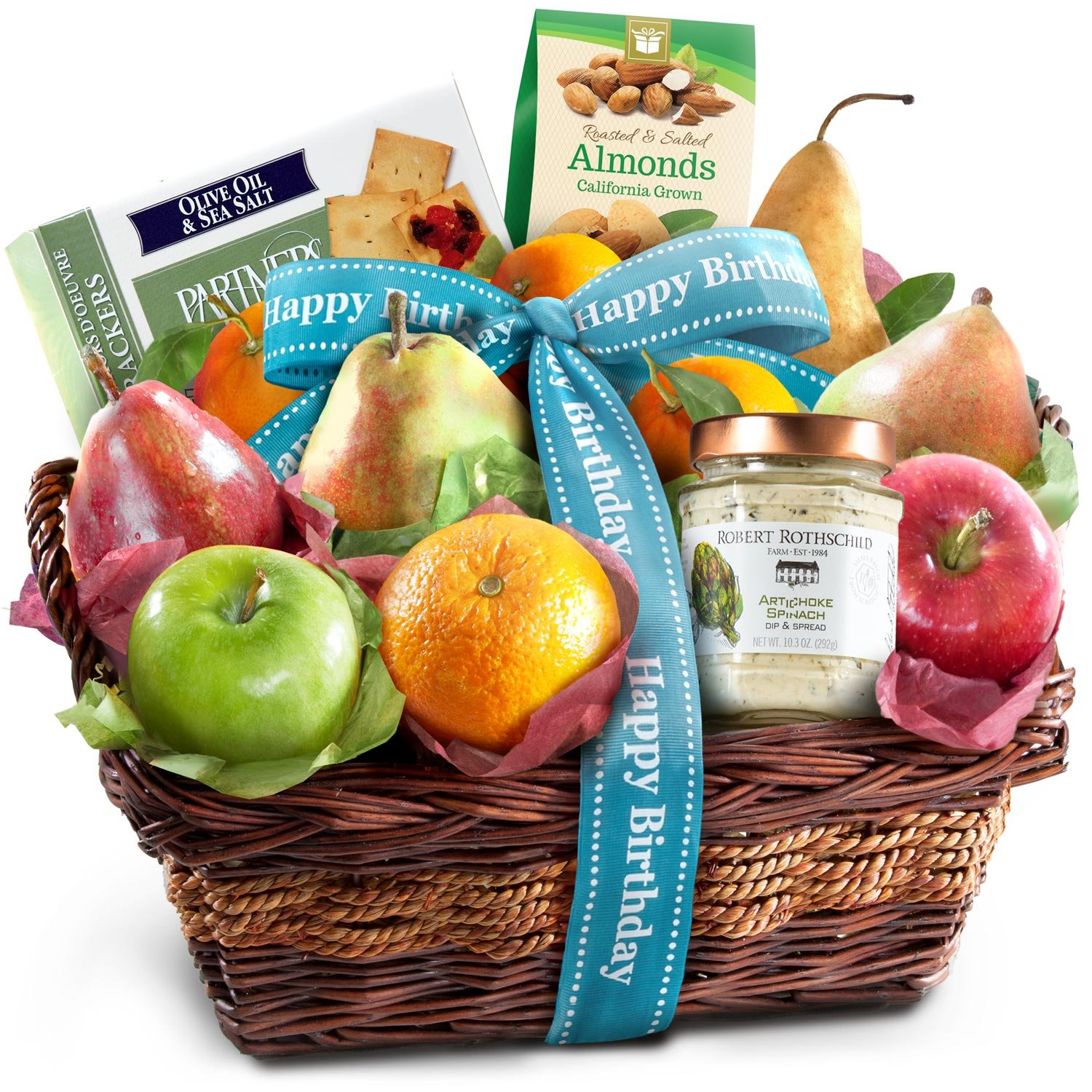 Amazon Classic Gourmet Fruit Basket Gift Gifts Grocery Food