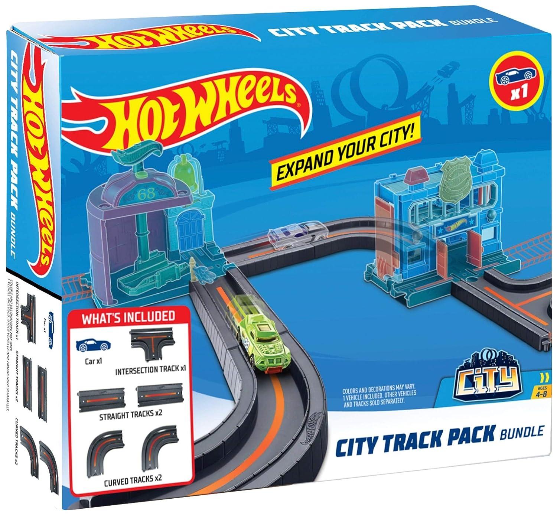 376987ea3eea Amazon.com  Hot Wheels City Track Pack Bundle  Toys   Games
