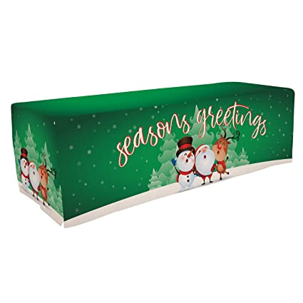 Amazon victory corps christmas party tablecloth table cover victory corps christmas party tablecloth table cover 8ft christmas characters seasons greetings winter m4hsunfo