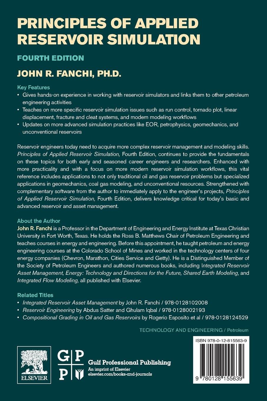 Principles of Applied Reservoir Simulation: Amazon co uk: John R