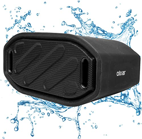 Olixar Waterproof Outdoor Speaker - Bluetooth Wireless ToughBeats - Rugged - IPX4 - Universal Compatibility