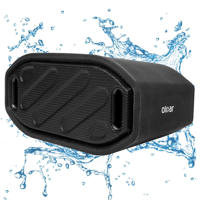 Olixar Waterproof Outdoor Speaker - Bluetooth/Wireless...