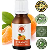 Old Tree Orange Essential Oil 100% Pure, Undiluted & Natural Therapeutic Grade,15 ml