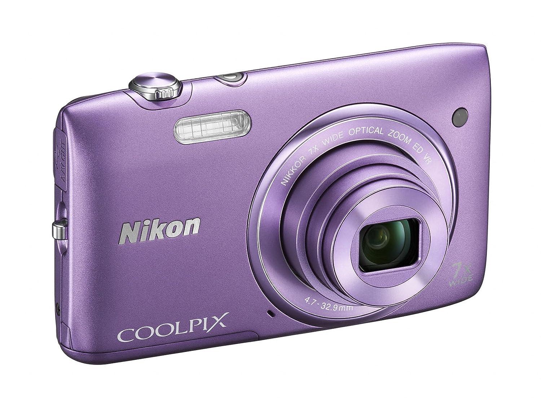 Amazon Nikon COOLPIX S3500 20 1 MP Digital Camera with 7x