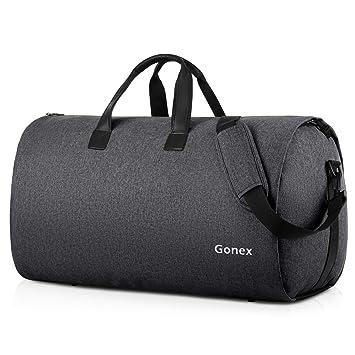 2eff1ef1db51 Gonex Garment Duffel Bag, Convertible Garment Bag, 2 in 1 Hanging ...
