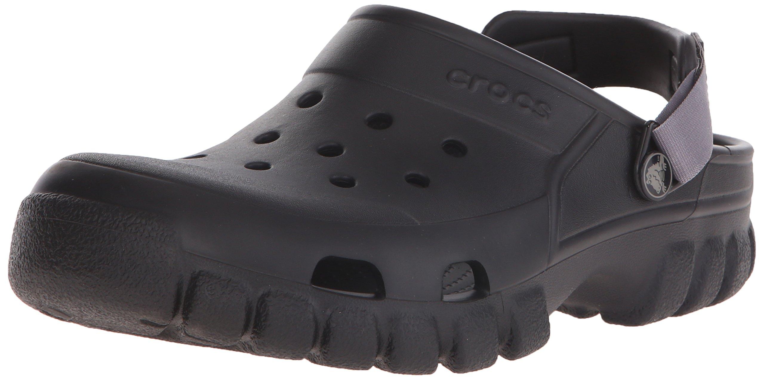 crocs Unisex Offroad Sport Clog,  Black/Graphite, 9 M (D) US Men / 11 M (B) US Women