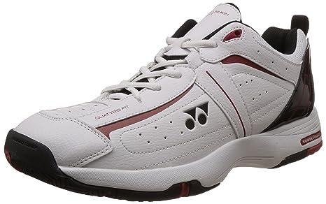 d25d998e1b3 Yonex SHT Soft Tennis Shoes (White Black)  Amazon.in  Sports ...