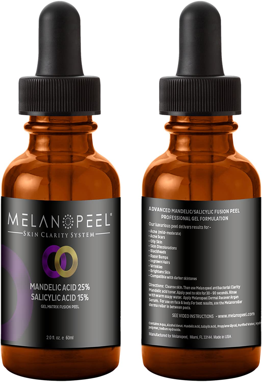 Amazon Com New Mandelic Salicylic Acid Peel Gel Matix Formula