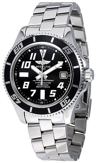 Breitling Superocean 42 automatic-self-wind Mens Reloj a1736402-ba28 - 161 A (Certificado) de segunda mano: Breitling: Amazon.es: Relojes