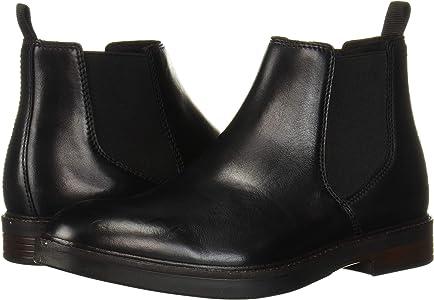 Schwarz Clarks Herren Paulson Up Chelsea Boots